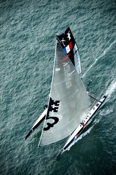 CORUM competing in America's Cup with the Energy Team