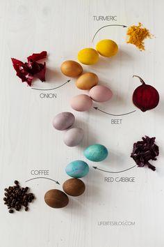 [lifebitesblog]Боядисване на яйца с естествени бои  Розовото изглежда яко и е постижимо