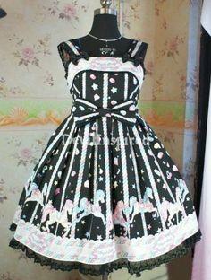 Sweet Printed Dolly Rococo Lolita Dress