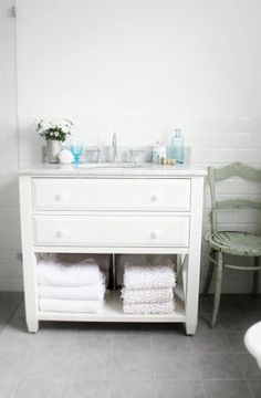 Dresser to sink vanity by carlani