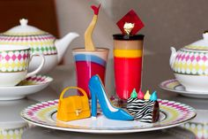 PRÊT-À-PORTEA AT THE BERKELEY    BEST FOR: WELL-HEELED WOMEN The original tea for fashionable ladies, and still the best. The Knightsbridge hotel's pastry chefs create sweet treats taken from each season's collections at London Fashion Week, which they attend for inspiration, and serve them on bespoke Paul Smith china in The Caramel Room.