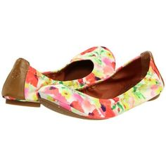 Lucky Brand Emmie 2 Women's Flat Shoes - Blurry Floral