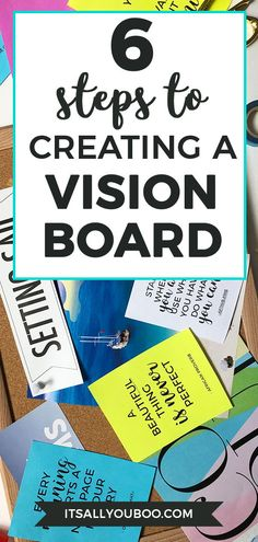 Vision board is a powerful tool that helps you to reach your goals and activate the law of attraction. Find out how to make a vision board that works. Leadership Vision, Goal Board, Creating A Vision Board, School Bulletin Boards, How To Manifest, Printable Quotes, Free Quotes, Positive Mindset, Motivation