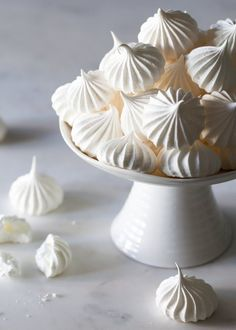 How to make Authentic French Meringue cookies