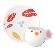 Teacup & Saucer by Pepe and Friends: Adorable tableware collection by Camila Prada