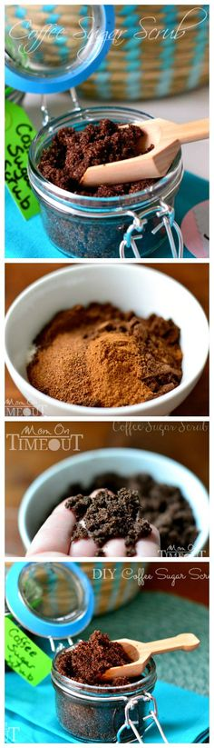DIY Coffee Sugar Scrub ~ Make your own deliciously fragrant scrub at home! Wonderful for exfoliation and can be made with ingredients you already have on hand! Diy Body Scrub, Diy Scrub, Beauty Care, Diy Beauty, Homemade Scrub, Tips & Tricks, Diy Spa, Peeling, Homemade Beauty Products