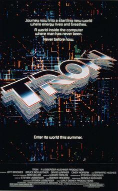 Tron poster... I used to have this!