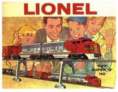 Vintage lionel trains toys ad