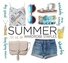 """""""Summer essentials"""" by leinijewelry ❤ liked on Polyvore"""