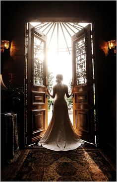 Inpsiring bridal image by Logan Walker Photography, see more http://www.frenchweddingstyle.com/wedding-at-la-caille/