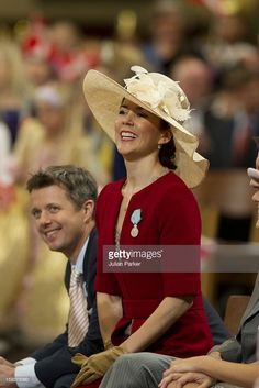 Crown Princess Mary Of Denmark Attends A Reception At The City Hall In Copenhagen, As Part Of Queen Margrethe Of Denmarks 70Th Birthday Celebrations. (Photo by Julian Parker/UK Press via Getty Images)
