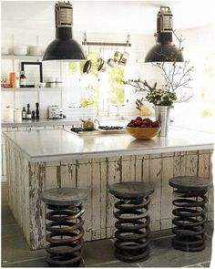 45 Cool Industrial Kitchen Designs That Inspire | Home Decor