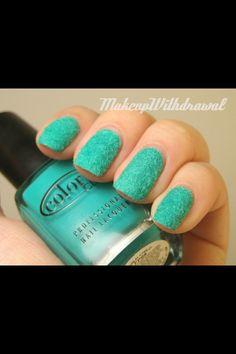 Fuzzy nails