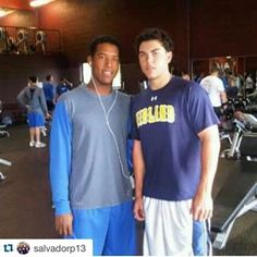 Hoz and Salvy when they were young!!!