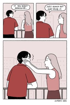 """30 Heartwarming Memes And Comics To Destroy Your Blues - Funny memes that """"GET IT"""" and want you to too. Get the latest funniest memes and keep up what is going on in the meme-o-sphere. Cute Couple Comics, Cute Couple Cartoon, Couples Comics, Cute Comics, Funny Comics, New Memes, Funny Memes, Hilarious, Amor Panda"""
