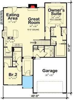 Plan 42344DB: European Cottage With Expansion Possibilities