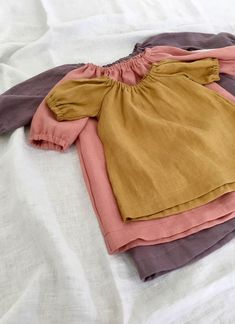 Handmade Linen Baby Toddler Dresses | SunnyAfternoon on Etsy
