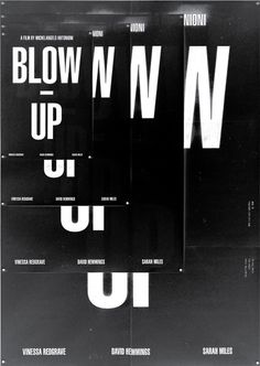 POSTER / Blow up
