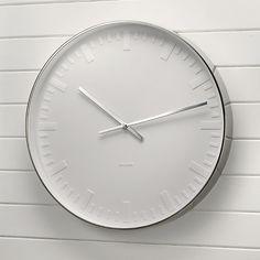 Karlsson Clock - White Company