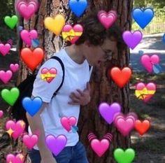 Memes Estúpidos, Funny Memes, Hilarious, It Movie 2017 Cast, Heart Meme, Heart Emoji, Cute Love Memes, When You Smile, Kokoro