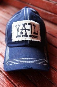YALL NAVY CAP - Junk GYpSy co.