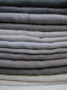 Linens in grey