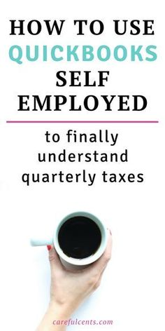 How to Use QuickBooks Self-Employed to Finally Understand Quarterly Taxes -- Learn how to use QuickBooks for small business accounting and file quarterly estimated taxes with ease. Plus, save 50 for the first 3 months with a free trial! quickbooks tips Small Business Bookkeeping, Small Business Accounting, Home Based Business, Business Tips, Online Bookkeeping, Small Business Software, Business Essentials, Business Coaching, Business Video