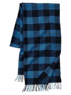 Buffalo checkered scarf | Gap