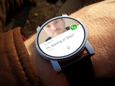 Android Wear - What's App Concept