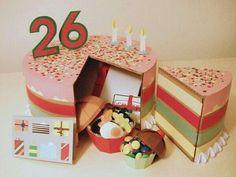 Imagen de pastel, regalo, and mi