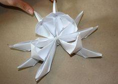 Fotopostup na lekno z papiera 18 3d Origami, Ceiling Fan, Home Decor, Ceiling Fan Pulls, Ceiling Fans, Interior Design, Home Interiors, Decoration Home, Interior Decorating
