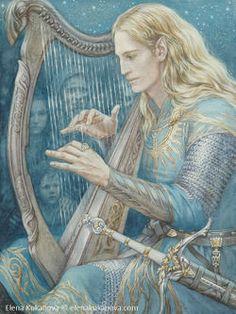 Elena Kukanova - Finrod - First Encounter with Edain.jpg