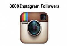 Will add 3000  instagram followers or likes only  for $3