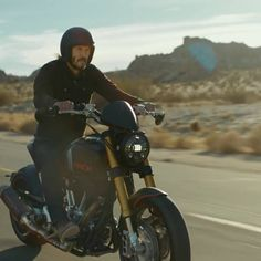 """""""Make it With Keanu Reeves"""" Jan 24th 2018. Squarespace made ARCH Motorcycle KRGT-1"""