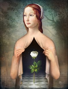 Poster | THE ROSE von Christian Schloe | more posters at http://moreposter.de