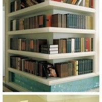 Nice idea for book cases - entire site is Chinese or Japanese lots of great ideas and uses of space