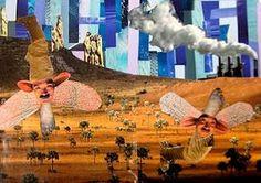 Experimentos em Arte-Educação: Colagens Revista Surreal