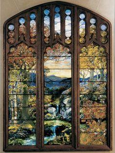 Tiffany Stain Glass Window