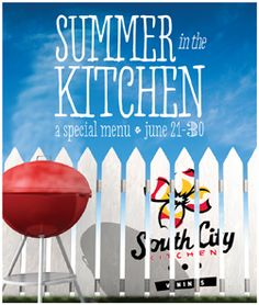 "Summer In The City Is Here -- South City Kitchen Vinings ""Summer In The Kitchen"" Menu Ushers In First Week Of Summer Beginning June 21"