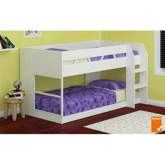 Z1 Low Line Single Bunk Bed – White