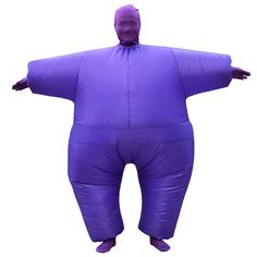 Inflatable Adult Chub Fat Masked Suit Fat Guy Costume Party Holiday Cosplay