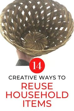 From trash to treasure, decorate on a budget with these easy and cheap upcycled household items. Perfect for your living room, kitchen, bathroom and bedroom. #hometalk