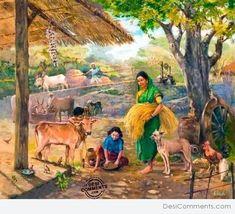 Indian Village Painting - DesiComments.com www.desicomments.com473 × 430Buscar por imagen