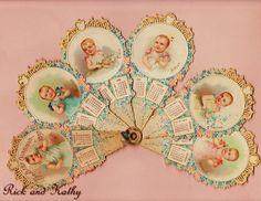 Paper Baby Calendar for 1897
