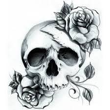 """Résultat de recherche d'images pour """"tatouage tete de mort new school"""""""