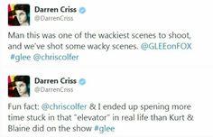 Darren about Klevator scene!