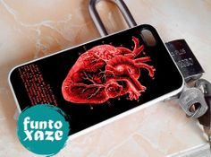 Vintage Medical Heart   iPhone 4/4s/5/5c/5s Case  by funtoxaze, $13.55