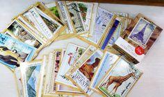 Set-56-Pcs-Of-Vintage-Retro-Worldwide-Landscape-stamp-Mini-Postcard-PC019