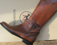 fd4854fba4f Howdy Slim! Riding Boots for Thin Calves Boots For Skinny Calves