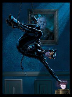Catwoman, Women of Legend Base Card by Guy-Bigbelly on @DeviantArt
